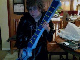 Demyx after Youma Con on Saturday by TouchMySitar