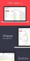 Gmail Ui Kit by bestpsdfreebies