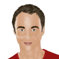 Sheldon Lee Cooper from The Big Bang Theory by byhorus