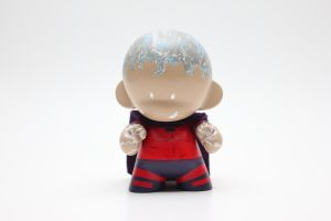 Magneto (w/out Helmet) Munny by spilledpaint88