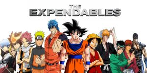anime Expandables by Redchampiontrainer01