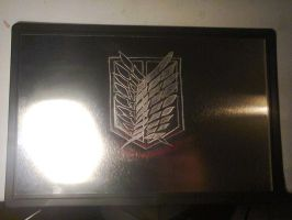 Survey Corps steel engrave by rishard77