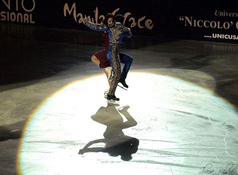 Golden Celebrities On Ice by Den-Lilla-Rose