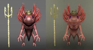 Axolotl King Texture 1 by rwcombs