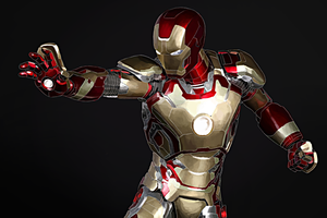 IRON MAN WIP by FISHNONES
