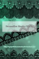 Decorative Border Stock by Michelangeline