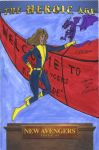 New Avengers Kitty Pryde by mbc12-5-58