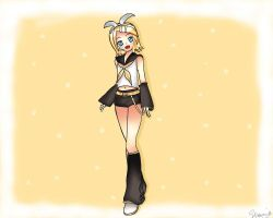 Rin Kagamine FINISHED by Chelsea701