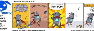 The Invincible Iron Pup by nemu-nemu