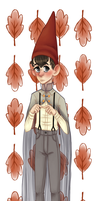 Over The Garden Wall- Wirt with Transparent Cape by LoohConrado