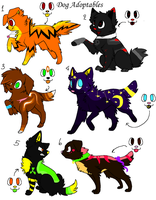 Dogs Point Adoptables 2 by WarriorAdopts