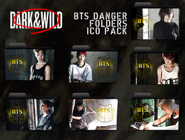 BTS Danger Folders by Icetaem