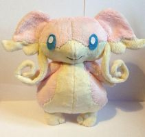 Audino Pokemon Plushie - Commission by tiny-tea-party