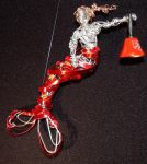 Mermaid ornament with Salvation Army Bell by metalpug