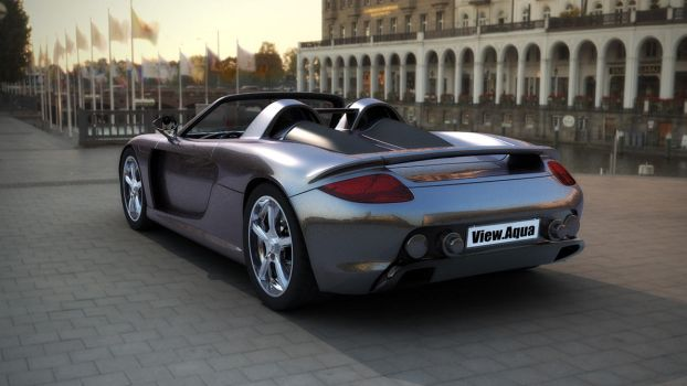 Porshe Carrera GT by view