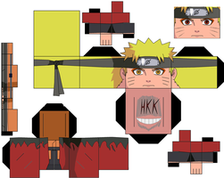 naruto sage mode by hollowkingking