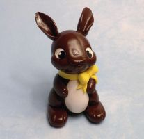 Dark Chocolate Bunny by whitemilkcarton