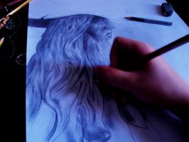 Drawing Odin by RedKronos92