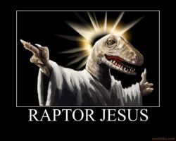 RAPTOR JESUS by halodork1