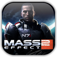 Mass Effect 2 Game Icon 2 by Wolfangraul