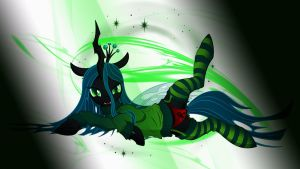 Wallpaper Sexy Chrysalis in light by Barrfind
