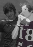 Larry Stylinson - Stop And Stare by xCheesyPie