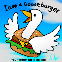 Gooseburger by BlueEvelyn
