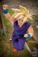DBZ - Super Saiyan Gohan 3 by LiquidCocaine-Photos