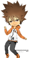 tsuna by HizuMaki