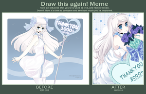 Draw this Again Meme by Everglaves