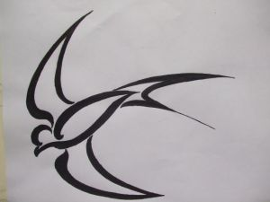 Best Tribal Tattoo Swallow Tribal Designs