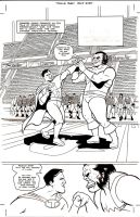 Titus page 1 inks by ScottEwen