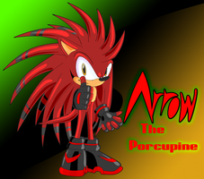 Arrow the rockin' Porcupine by Jet-Plasma