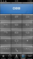Surr3a1 Dialer Carved Stone theme iphone 5 by surr3a1