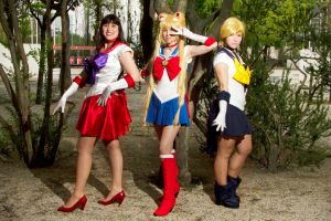 Sailor Scouts by CatiaLuna