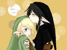 DarkxLink - Happy Birthday Green by blackorchid2007