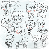 THIS SKETCH DUMP HAS PRACTICE + OTHER STUFF AGAIN by Brashgirl901