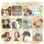 Shock777's 2014 Summary of Art by shock777