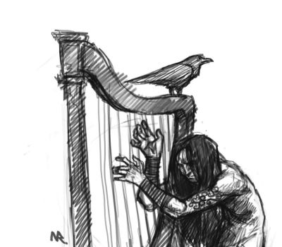 Harp by Some1Silly