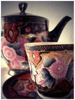 Chinese pottery by EatMyNose