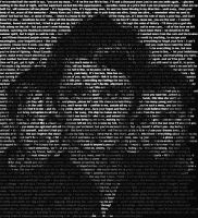 Muse Lyrics Portrait by cydoniaknight14
