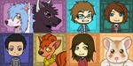 Chibi Icon Requests - September 2013 Compilation by Lauzi