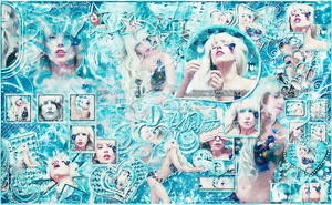 Blend Lady Gaga for my WebCam by DaniMonsterEditions