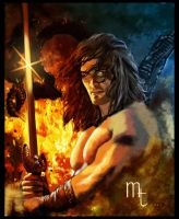 Conan the Barbarian by turkill