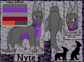 Nyte Ref Commish by Rainbow-Moose