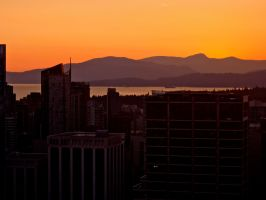 The gloaming of Vancouver. by gee231205