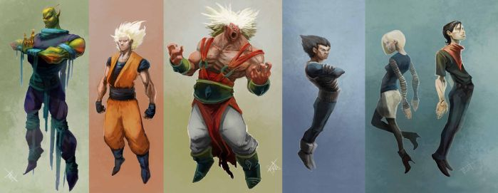 DBZ by KZBulat