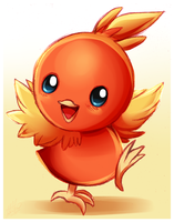 Pokemon- Torchic by Sweetochii