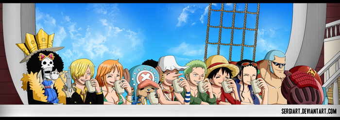 One Piece - On a perfect day by SergiART