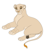 OTA Pregnant lioness Adopt 4 /CLOSED/ by Karksy